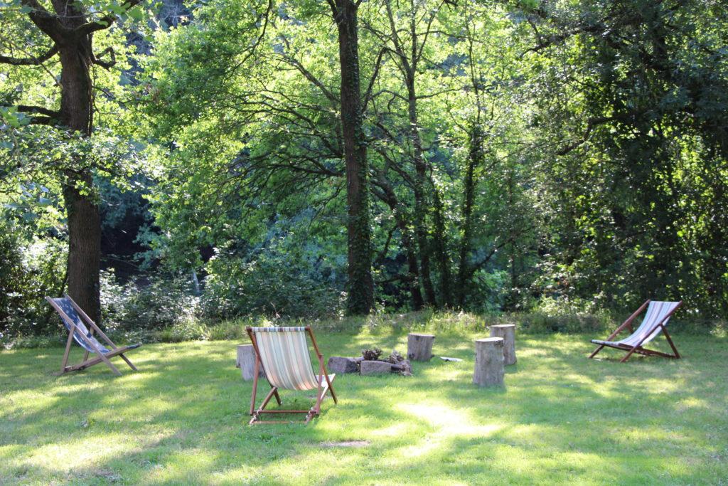 Un moment de pause, pour une mise au vert à quelques kilomètres de Nantes