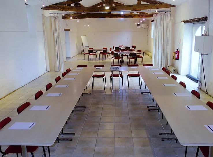 Salle de la Vieille Cure, pour des réunions au milieu des vignes à Saint Fiacre sur Maine